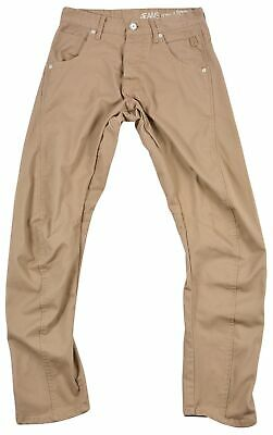 Jack & Jones Dale Twisted Camel Sup Boy Kids Anti Fit 3D Arc Leg Jeans 30/32 • 18.98£