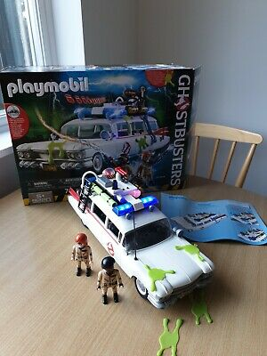PLAYMOBIL 9220 Ghostbusters Ecto-1 Vehicle With Box And Instructions • 9.99£