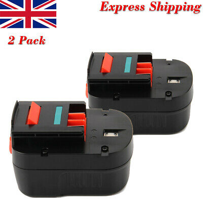 2x 3.0AH 12V Ni-MH Battery For Black & Decker FS120B FSB12 A12 A1712 CP12K HPB12 • 35.57£