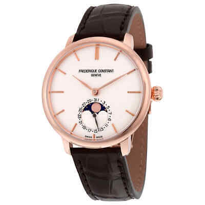 $1989.75 • Buy Frederique Constant Manufacture Slimline Moonphase Automatic Men's Watch