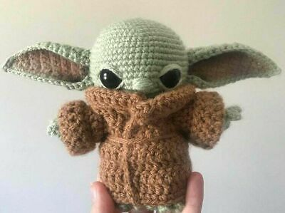$8.49 • Buy Baby Yoda The Child Amigurumi Crochet Pattern - PDF PATTERN ONLY - NO DOLL