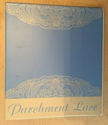 Parchment Lace Magazine Storage Folder • 5£