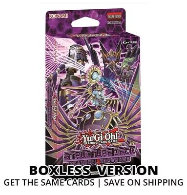 YUGIOH Shaddoll Showdown Structure Deck 1st Edition Sealed AND UNBOXED • 8.65£