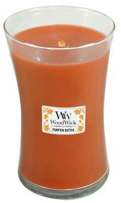 $23.84 • Buy PUMPKIN BUTTER WoodWick 22oz Large Jar Candle Burns 180 Hours