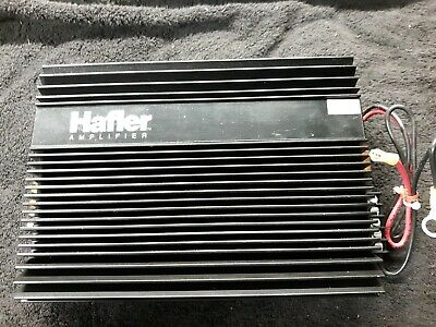 $499.95 • Buy Rare NOS HAFLER MA1 Car Stereo Amplifier TO3 / Linear Power And Tru SQ Audio RF