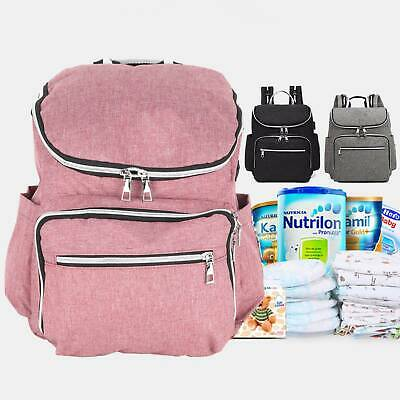 AU22.99 • Buy Multifunctional Baby Diaper Nappy Backpack Waterproof Mummy Changing Bag