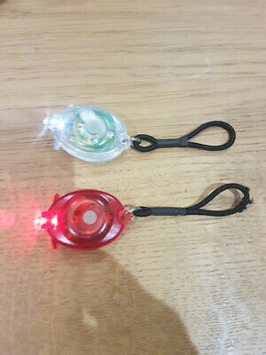 2Pcs Mini LED Micro Keychain Light Key Ring Torch Lamp Flash Bright Flashlight • 1.40£