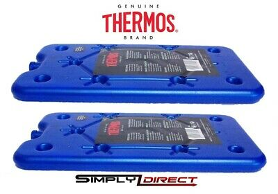 £6.85 • Buy 2 X Thermos Freeze Board Ice Pack Block 200g For Cool Bag Chill Box Cooler