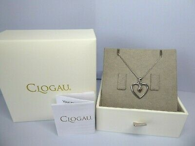 Clogau Gold, Silver & Rose Gold Tree Of Life Heart Pendant, 23  Chain RRP £119 • 48£