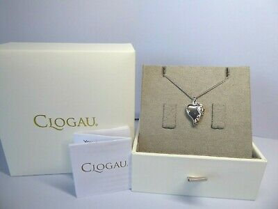 Clogau Gold, Silver & Rose Gold Tree Of Life Heart Pendant, 18  Chain RRP £129 • 52£
