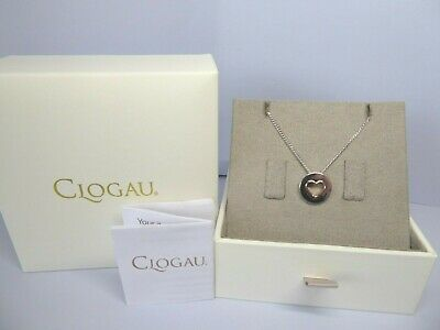 Clogau Gold, Silver & Rose Gold Circle Of Love Heart Pendant, 22  Chain RRP £89 • 49£