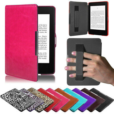 AU24.66 • Buy Luxury Premiu Slim Leather Smart Case Cover For New Amazon Kindle Paperwhite 5