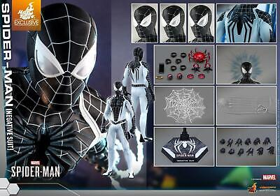 $ CDN450.32 • Buy Hot Toys VGM36 Spider-man (negative Suit) Unopened 1/6 In Stock Spiderman