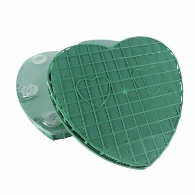 £7.99 • Buy Large 12  Floral Foam Heart With Suction Pads - Oasis Tribute Flower Sponge