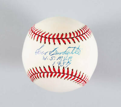 $ CDN95.27 • Buy Lew Burdette Signed Baseball Braves – COA JSA