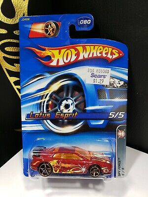 $ CDN12.59 • Buy 2006 Hot Wheels Faster Than Ever Wheels Lotus Esprit Spy Force - A13