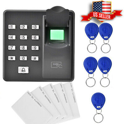 AU85.21 • Buy Acces Fingerprint Lock Biometric Door Access Control Controller RFID Card Reader