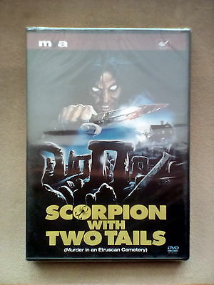 Scorpion With Two Tails / Assassinio Al Cimitero Etrusco Dvd Sergio Martino • 30£