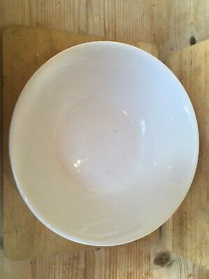 Ridgway Pottery  1952 Dated Plain White Bowl Simple Clean Lines  • 3.50£