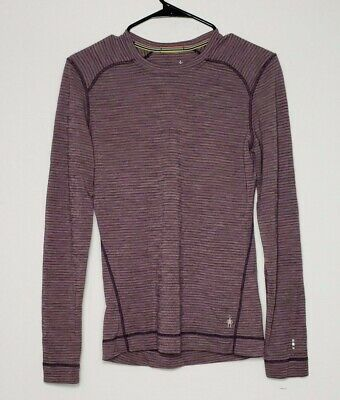 $39.99 • Buy Smartwool Womens Merino Wool Base Layer Shirt Size M Outdoor