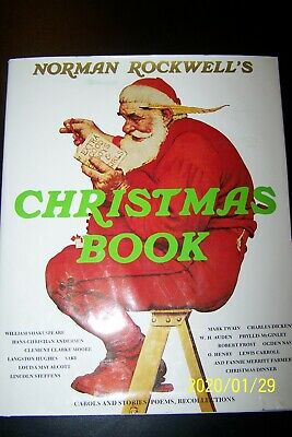 $ CDN6.67 • Buy Norman Rockwell's Christmas Book By Molly Rockwell 1993 Color Hardcover
