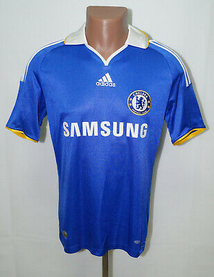Chelsea London 2008/2009 Home Football Shirt Jersey Adidas Size S Adult • 37.99£