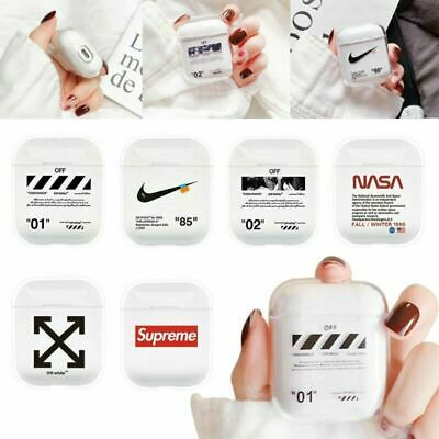 AU13.89 • Buy Earphone Case Off-White Hype Luxury X Nike Clear Airpods Off White For AU