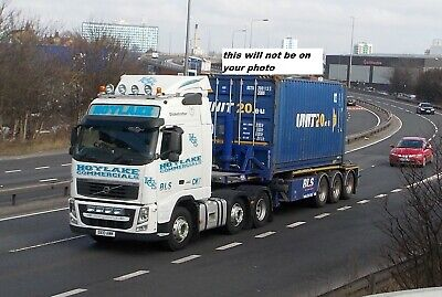 Truck Photo / Print Volvo Fh Container Load Hoylake Dx10 Awm • 0.99£