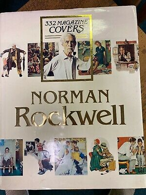 $ CDN46.14 • Buy Norman Rockwell Book 332 Magazine Covers 1979 Coffee Table Book Dust Jacket