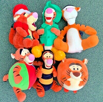 Various Tigger From Winnie The Pooh Plush / Soft Toys - Multi Listing - Free P&P • 7.29£