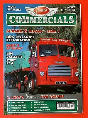 £4.95 • Buy Heritage Commercials Magazine - May 2008 - Scania's History Pt 1 - Leyland BRS