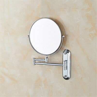 £17.93 • Buy 8 Inch Wall Mounted Shaving Mirror Extending Folding Double Side Makeup Mirror