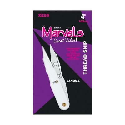 Janome Marvels Thread Snips (Scissors XE59) 10cm/4inch Sewing/craft  Free UK P&P • 4.25£