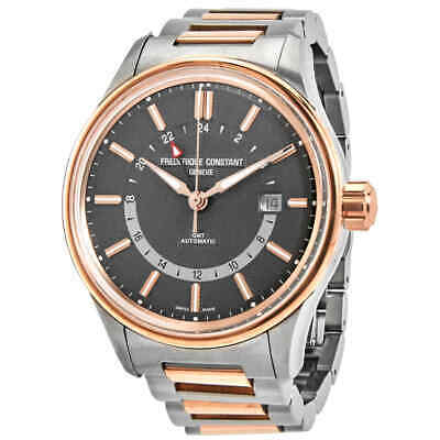 $1340.64 • Buy Frederique Constant Yacht Timer GMT Automatic Grey Dial Men's Watch FC-350GT4H2B