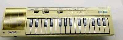 $32.95 • Buy Rare Vintage Casio PT-1 Electronic Mini Keyboard Japan TESTED
