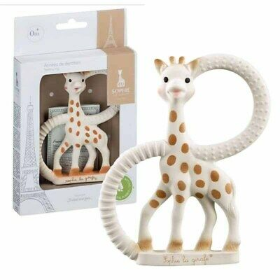 £11.45 • Buy SOPHIE THE GIRAFFE - Famous Baby Teether Ring By Vulli - 100% Genuine **NEW**