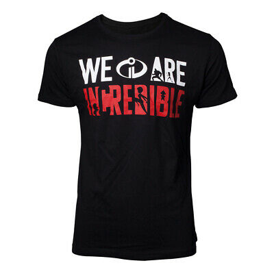 Disney The Incredibles 2 We Are Incredible T Shirt Mens • 11.95£