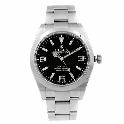 $ CDN8267.70 • Buy Rolex Explorer Stainless Steel Black Dial Automatic Mens Watch 214270