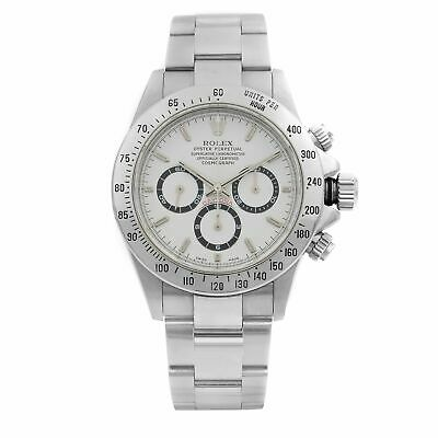 $28399 • Buy Rolex Daytona Cosmograph Zenith Movement  Steel White Dial Watch 16520 A-Series