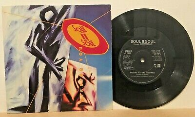 SOUL II SOUL Missing You KYM MAZELLE THICK PICTURE SLEEVE VINYL 7  SINGLE 1990 • 2.20£