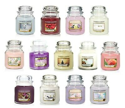 Yankee Candle Medium Jars My Serenity Apple & Pine Needle Belgian Waffles • 14.99£