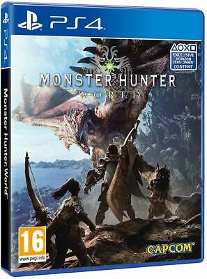 AU39 • Buy Monster Hunter World PS4 Playstation 4 Brand New Sealed