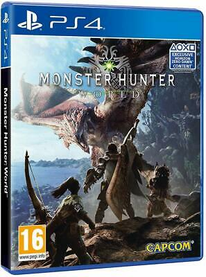 AU27 • Buy Monster Hunter World PS4 Playstation 4 Brand New Sealed