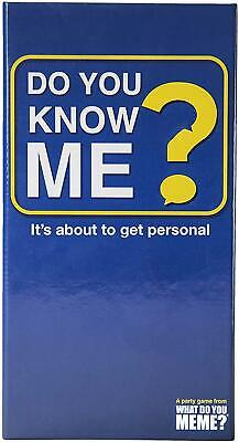 AU41.69 • Buy What Do You Meme? Do You Know Me? Card Game Free Shipping!