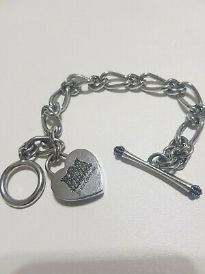 Juicy Couture Heart Silver Colour Charm Bracelet  • 13.50£