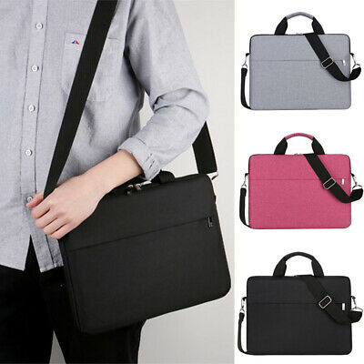 15.6 Inch Laptop PC Waterproof Shoulder Bag Carrying Soft Notebook Case Cover UK • 9.44£