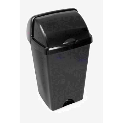 Addis 48l Roll Top Plastic Waste Rubbish Bin With Lid - Roasted Uk • 16.70£