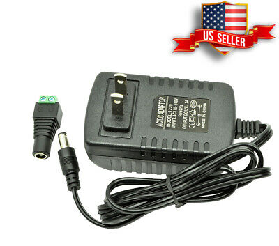 $9.99 • Buy DC 12V 2A Amp AC Adapter Charger Power Supply For LED Strip Light 12 Volt, USA