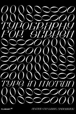 £36.65 • Buy Typography For Screen Type In Motion