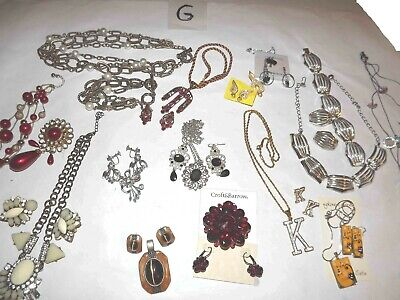 $ CDN65.32 • Buy Huge Lot G Of Jewelry Sets  Necklaces, Earrings & More *lqqk*